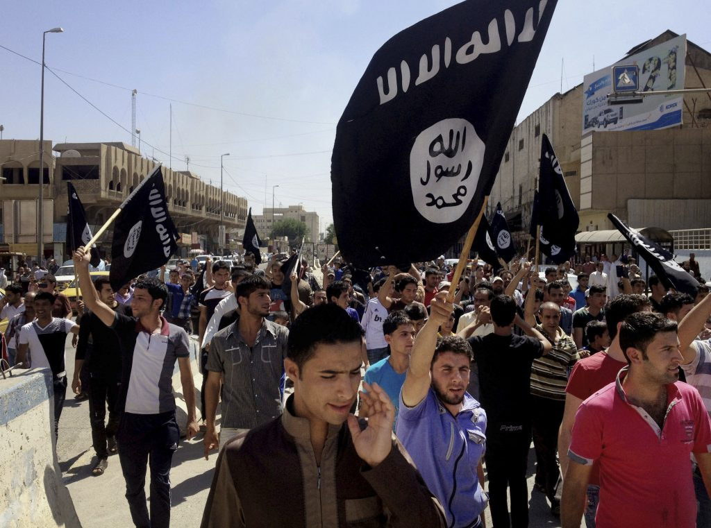 Islamic State dirty bomb