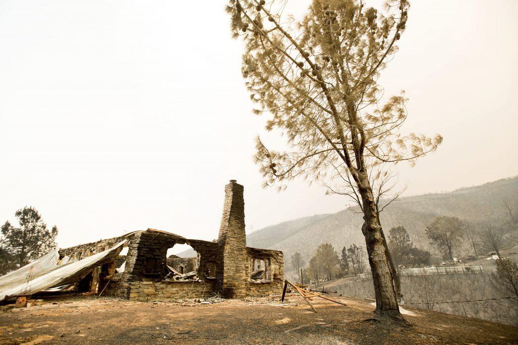 California wildfire, Yosemite