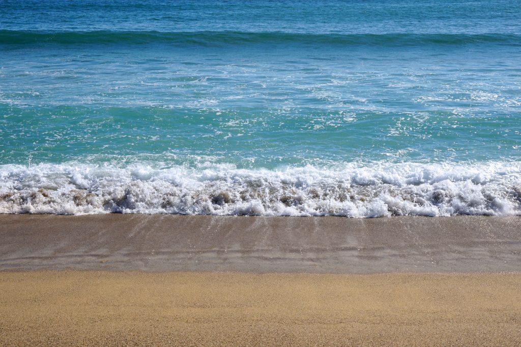 Beachgoers, Human Chain, Rescue, Family, Water