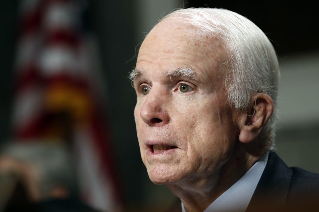 Sen., McCain, Honored, Lifetime of Sacrifice and Service