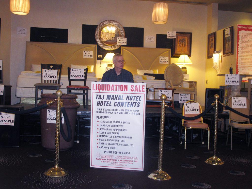 Liquidation Sale, Trump, Former, Casino