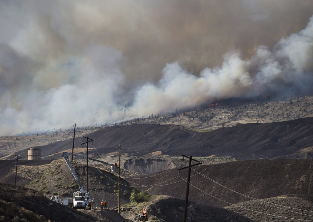 Fire, California, West