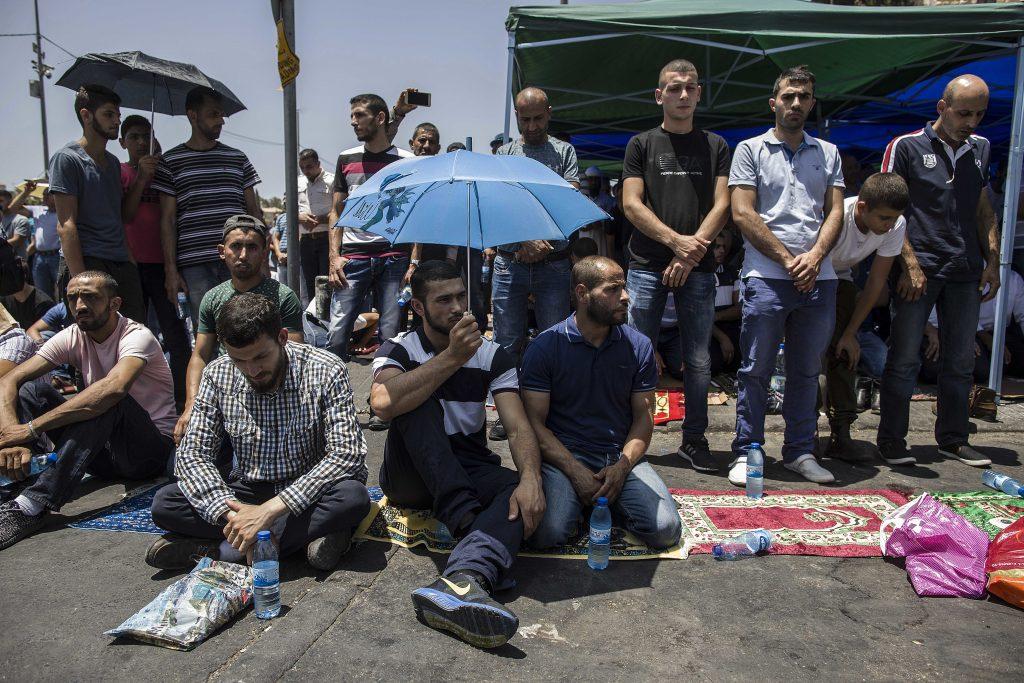 Yerushalayim protest