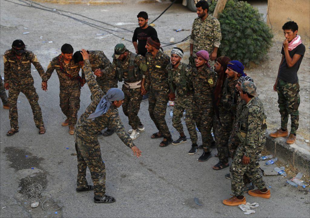 U.S. Kurds Syria