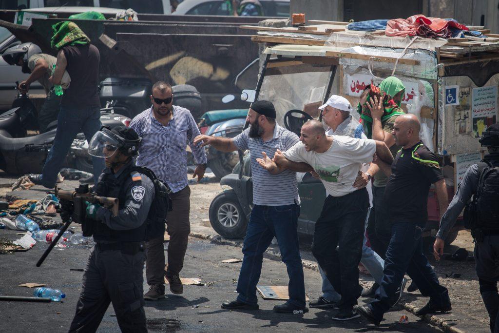 riots Israel