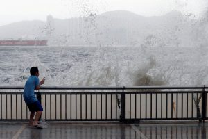 typhoon Hong Kong