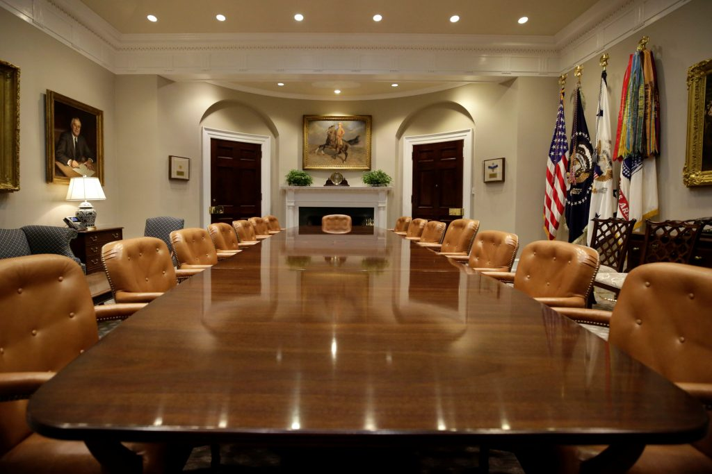 Where Is The Roosevelt Room In The White House
