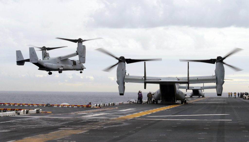 Search, U.S., Marines, Crashed, Australia