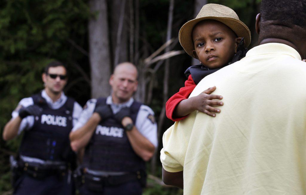 Canada migrants