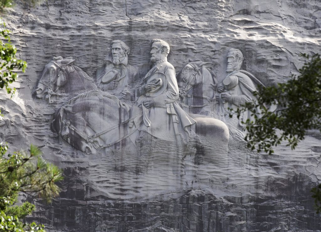 stone mountain, confederate