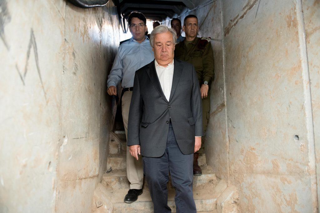 Guterres Israel