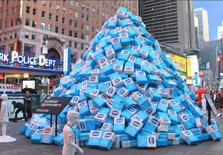 Times Square sugar