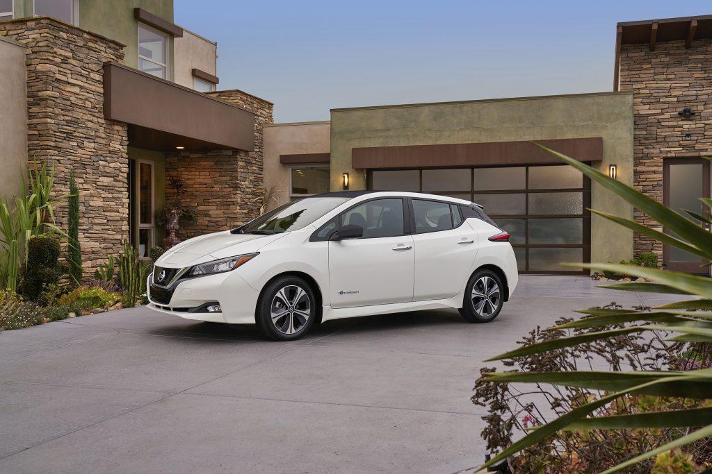 Nissan Leaf, electric vehicle