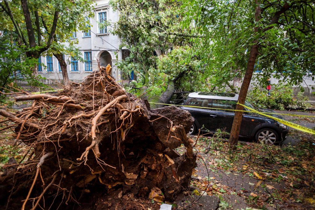 Romania storm