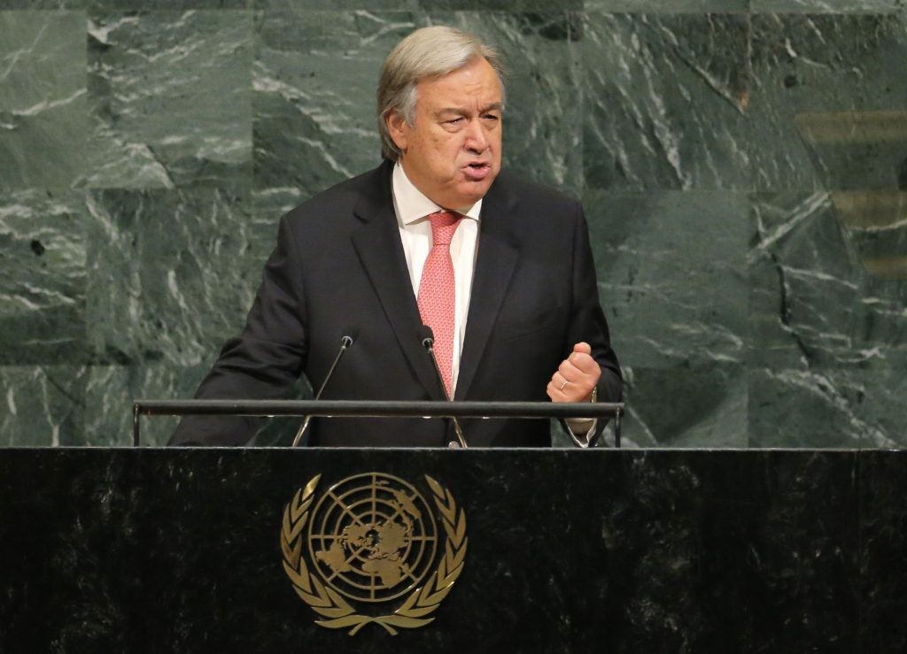 Guterres nuclear
