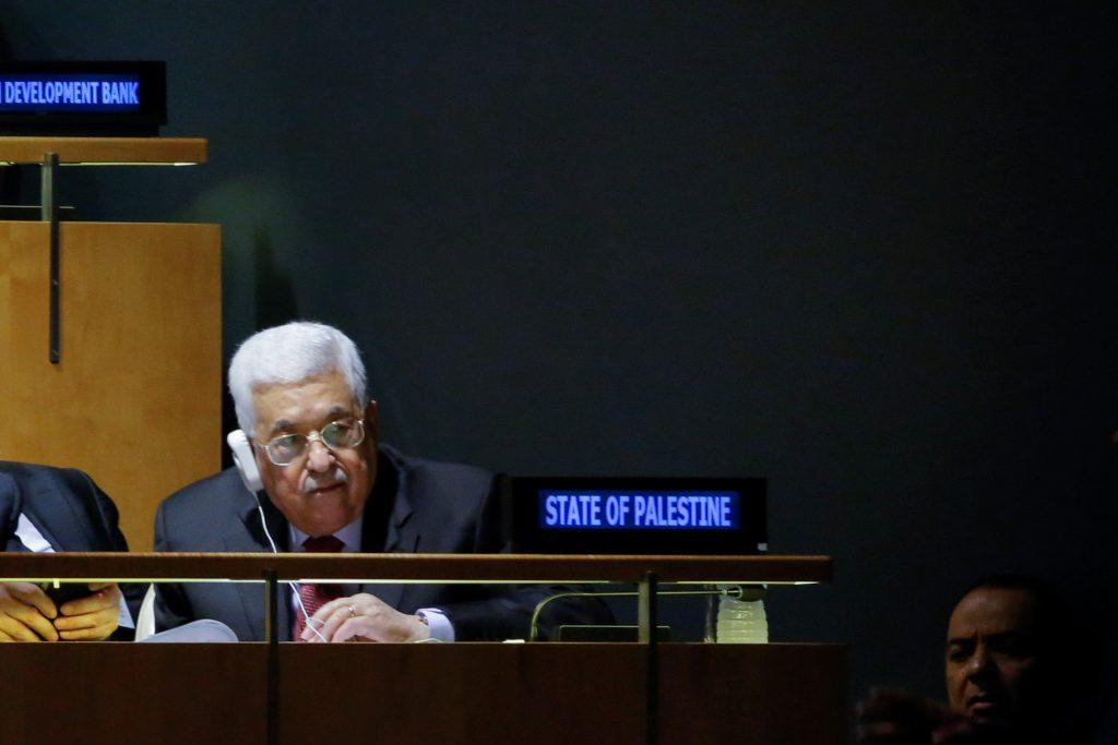 Palestinians Abbas