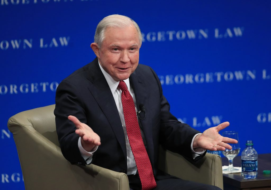 Jeff Sessions, Sessions free speech
