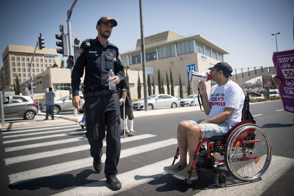 disabled Israel
