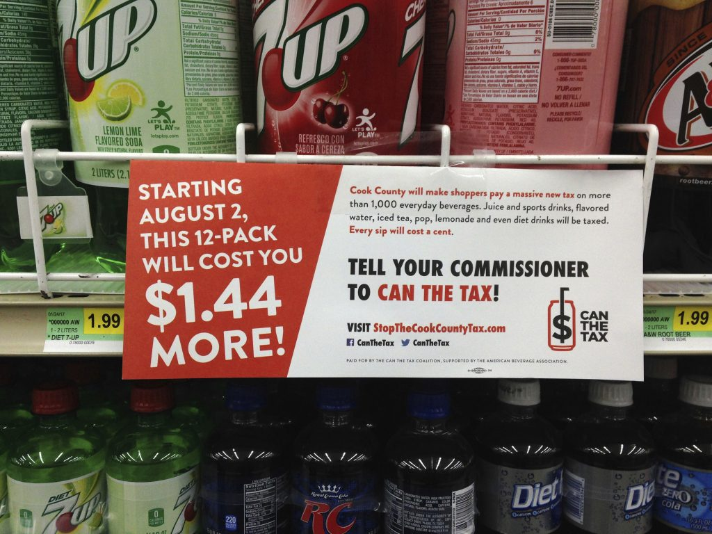 Chicago soda tax