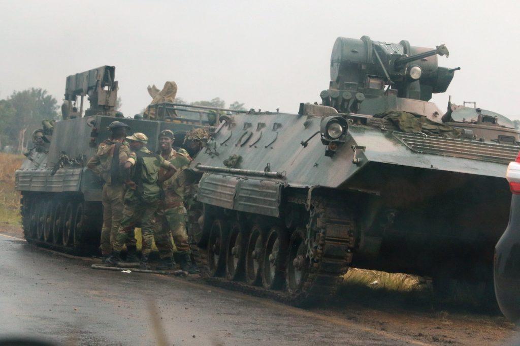 Zimbabwe tanks
