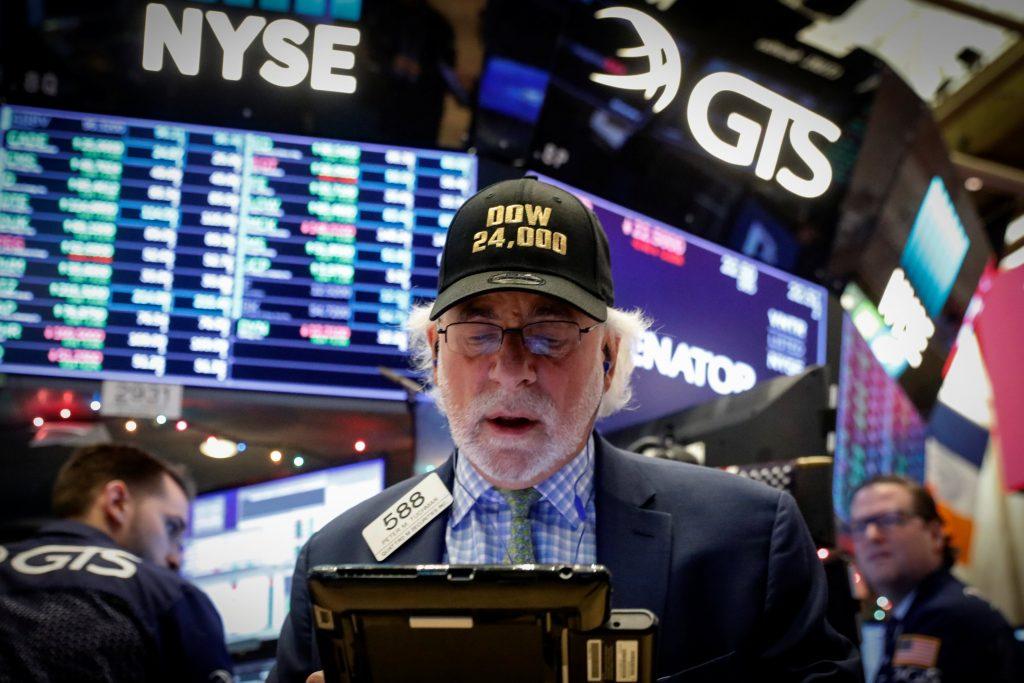Dow 24,000, stocks, markets, wall street