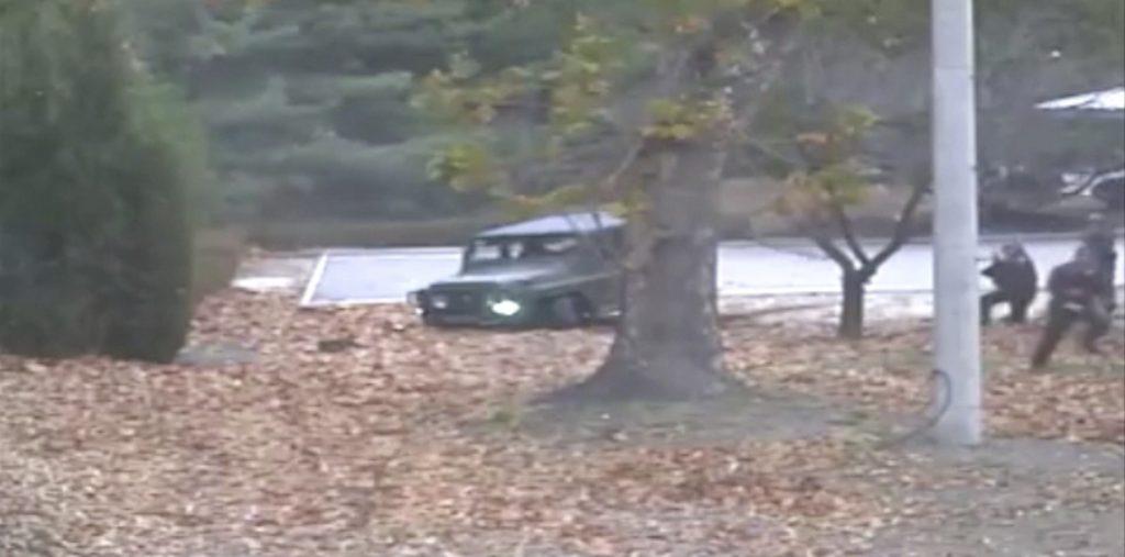 North Korean soldier, North Korean defector