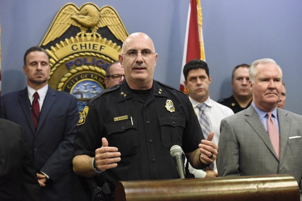 Tampa arrest