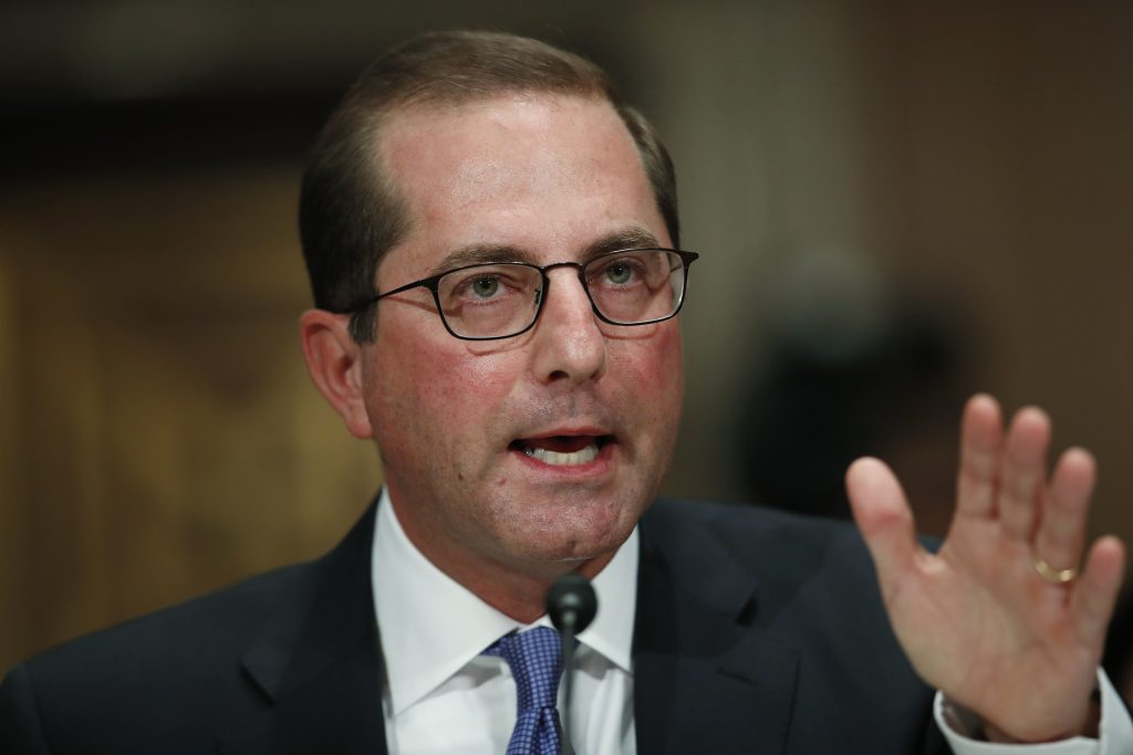 Alex Azar, HHS