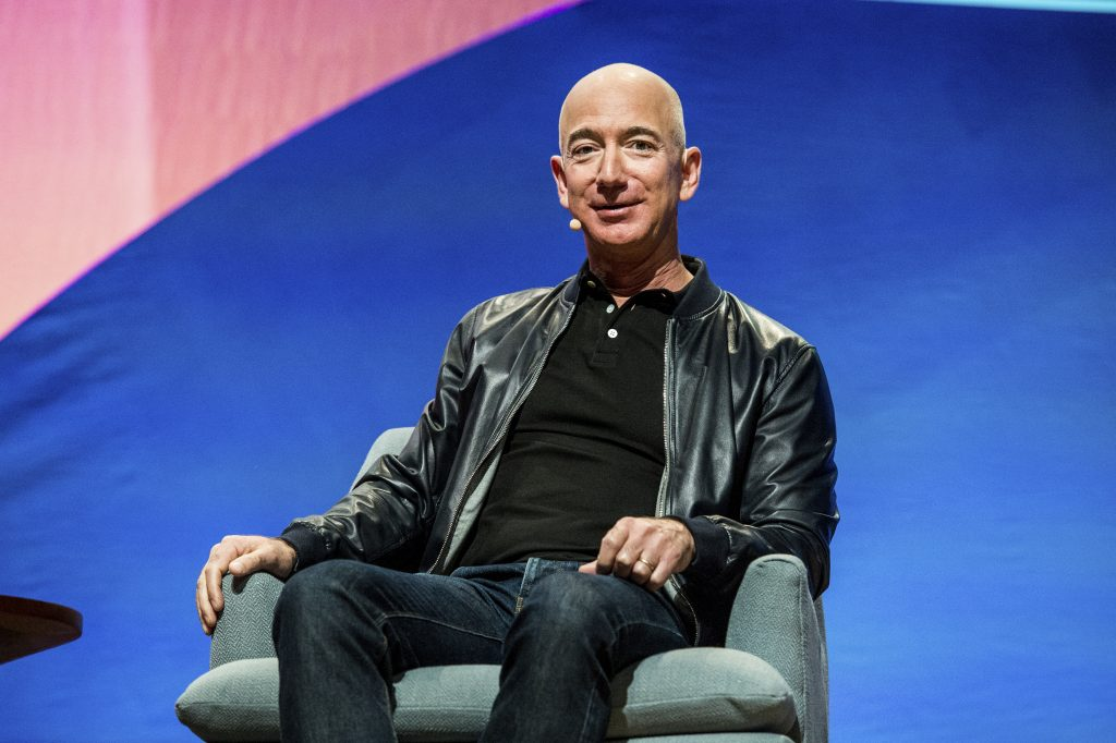 Bezos worth