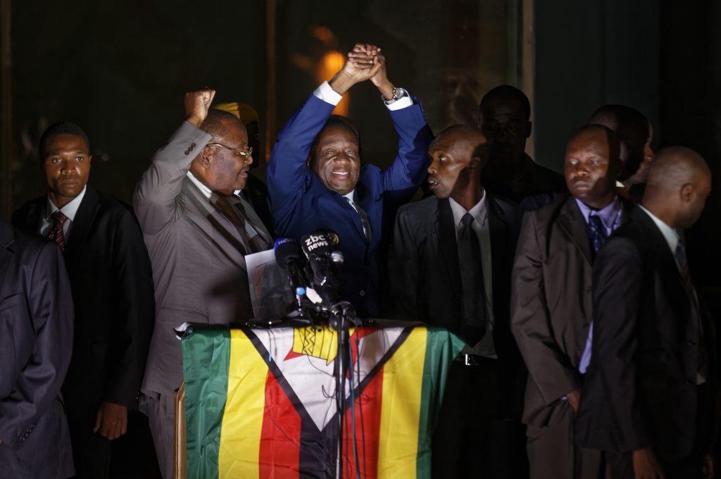 Zimbabwe, Mnangagwa