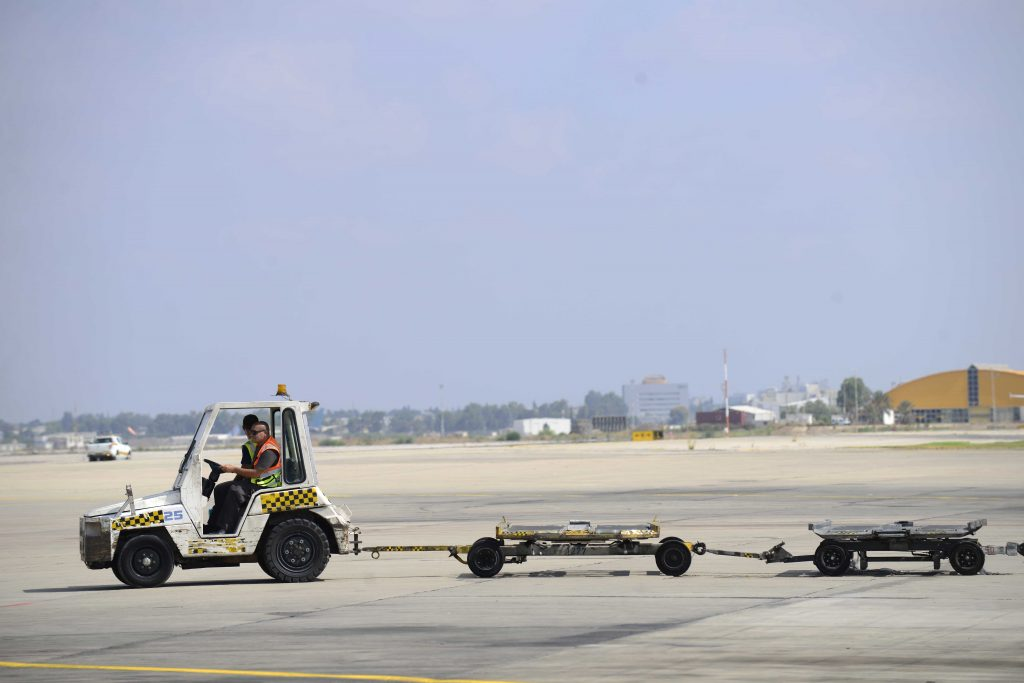 Ben Gurion strike, Ben Gurion airport