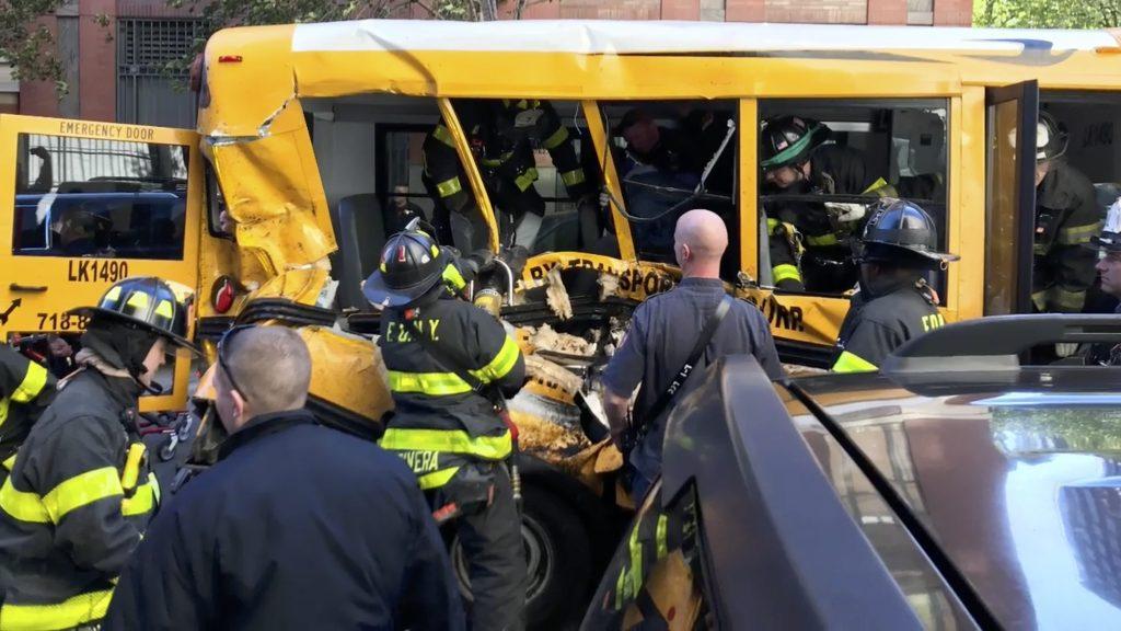 school bus truck