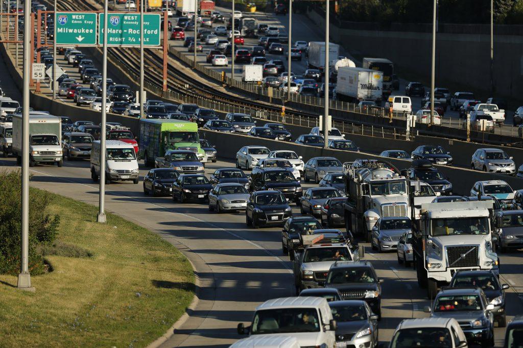 Thanksgiving traffic