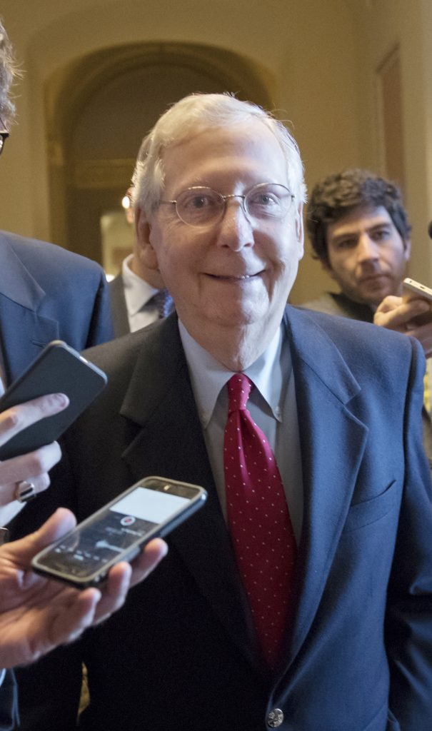Republican tax, McConnell