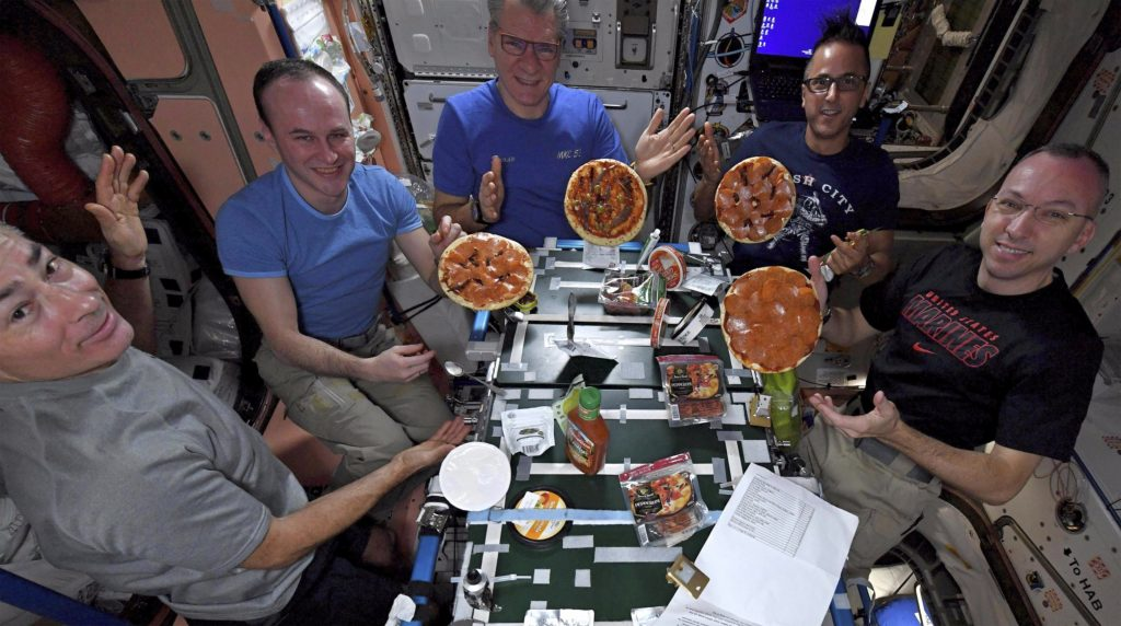 pizza space