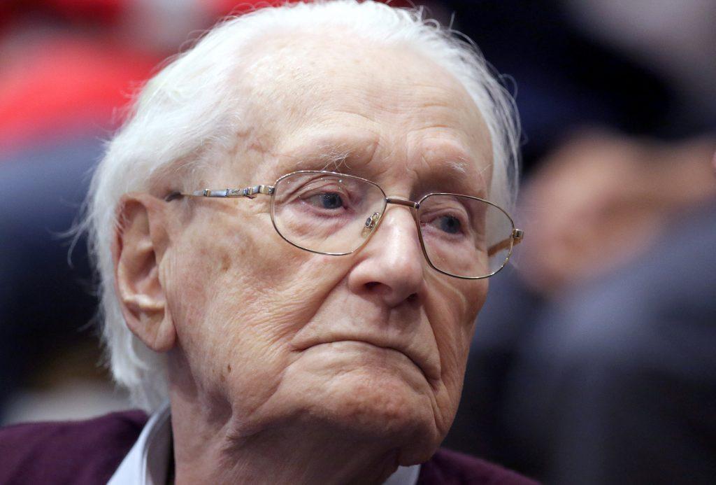 Oskar Groening, accountant Auschwitz