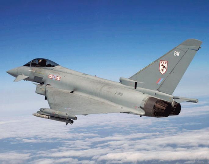 Fighter Jets For Sale >> Typhoon Jets Scrambled to Intercept Russian Planes Near UK ...