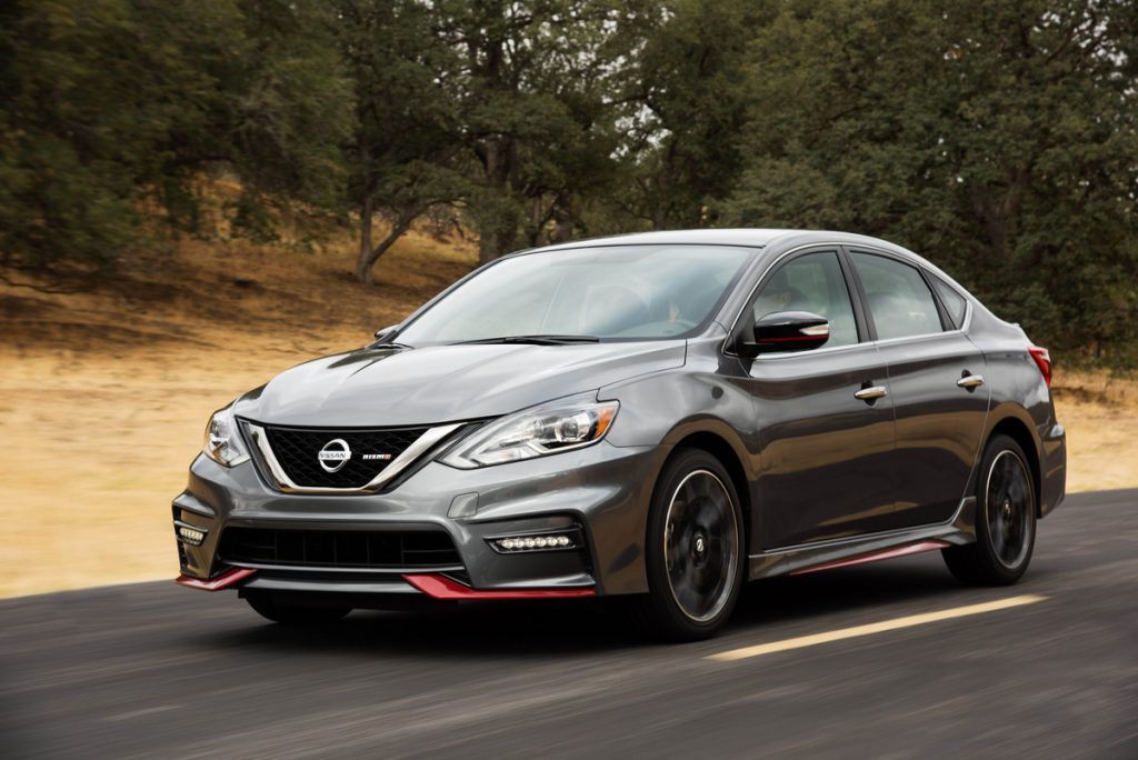 Auto Review Nissan S Sentra Nismo Sport Sedan Returns For 2018 With Extra Features