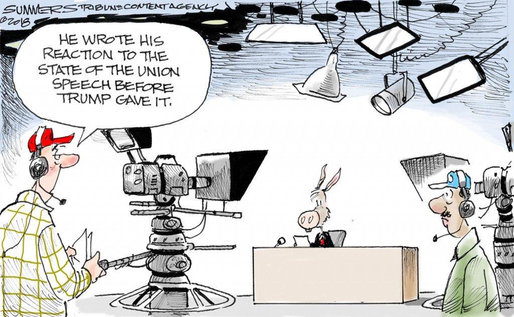 Editorial Cartoon – February 1, 2018 | Hamodia Jewish and