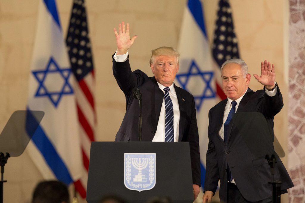 Israel U.S., Trump Netanyahu
