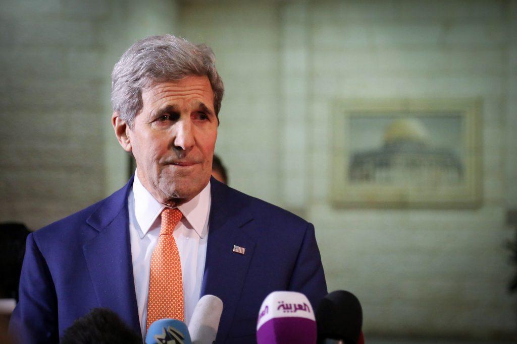 Kerry Palestinians