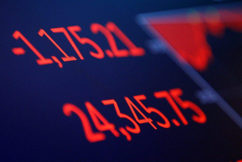 Dow Drops 1,175, Biggest-Ever Point Drop | Hamodia.com