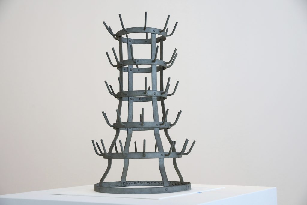 bottle rack, duchamp, chicago