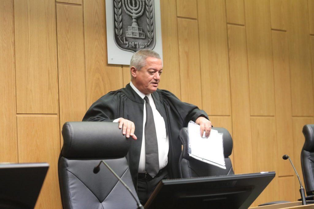 Arab judge