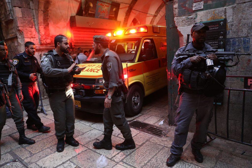 stabbing Israel