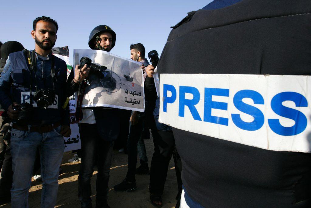 Resultado de imagem para palestinian journalist hamas