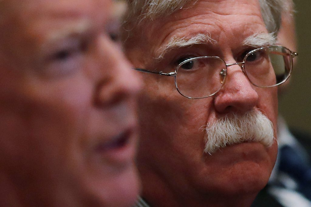 John Bolton Tells Russia to Address Election Concerns