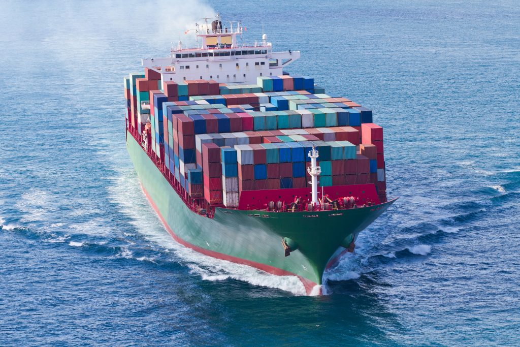 EU tariffs, container ship, china tariffs, trump china