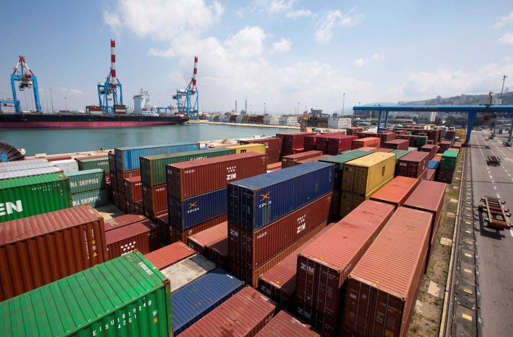 strike port, Haifa port