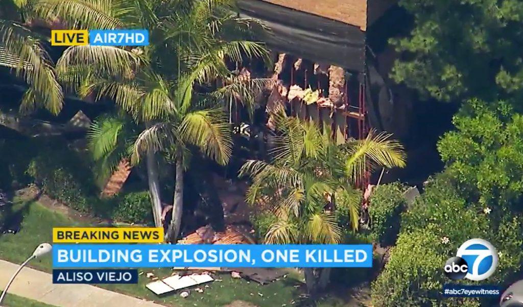explosion california